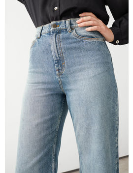 Organic Cotton High Rise Wide Leg Jeans by & Other Stories