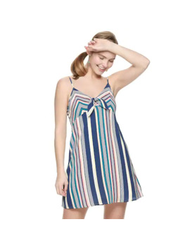 Juniors' Trixxi Front Bow Dress by Trixxi