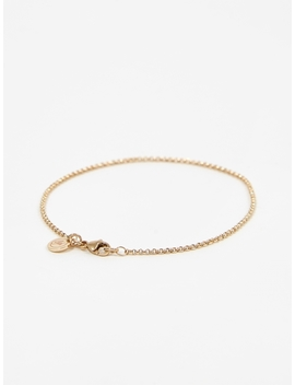 Baby Belcher Bracelet   9ct Yellow by Goods By Goodhood