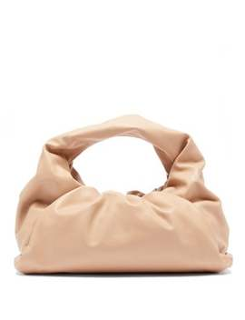 The Shoulder Pouch Small Leather Bag by Bottega Veneta