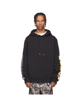 Black Skull Hoodie by Heron Preston