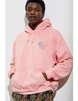 Everything Blooms Overdyed Hoodie Sweatshirt by Urban Outfitters