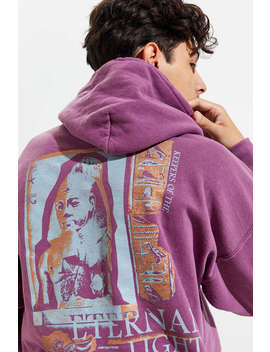 Eternal Light Overdyed Hoodie Sweatshirt by Urban Outfitters