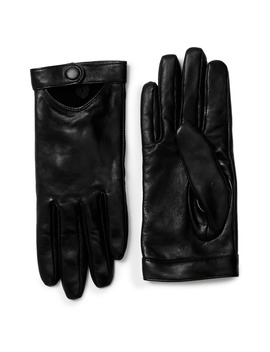 Gabia Lambskin Leather Tech Gloves by Mackage