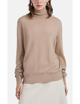 Seiler Cashmere Silk Turtleneck Sweater by The Row