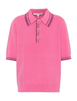 Embellished Polo Shirt by Marc Jacobs