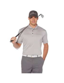 Big & Tall Grand Slam Dri Flow Colorblock Performance Golf Polo by Grand Slam