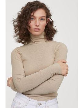 Блуза с поло яка by H&M