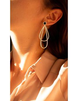 Drops Earrings, Enamel Earrings, Unique Earrings, Impressive Earrings, Hanging Earrings, Evening Earrings, Elegant Earrings, Christmas Gift by Etsy