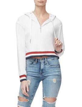 The Americana Cropped Hoodie                 by Good American