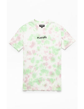Pac Sun X Playboy Tie Dyed Logo T Shirt by Pacsun