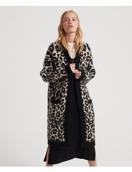 Lisa Leopard Cardigan by Superdry