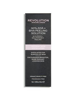 Intense Skin Exfoliator   30% Aha + Bha Peeling Solution by Revolution