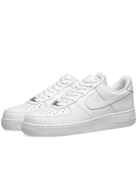 White Air Force 1's  Size 7 New  Women's And by Depop