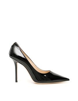 Black Patent Love 100 Pumps by Jimmy Choo