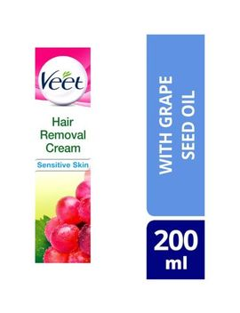 Veet Natural Inspirations Hair Removal Cream For Sensitive Skin 200ml by Veet