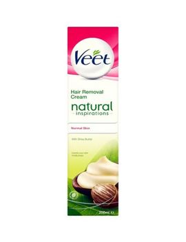 Veet Natural Inspirations Hair Removal Cream For Normal Skin 200ml by Veet