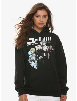 Yuri!!! On Ice Characters Girls Sweatshirt by Hot Topic