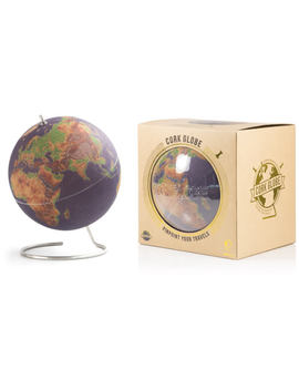 Large Coloured Cork Globe by Iwoot