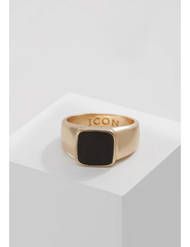 Sign Of The Times Signet   Ring by Icon Brand