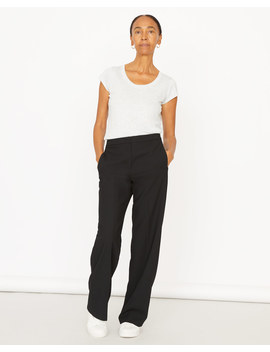 Modern Crepe Straight Trouser by Jigsaw