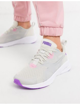 Puma Hybrid Fuego Trainers In Grey by Puma's