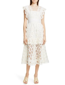 Laurel Lace Midi Dress by Sea