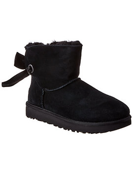 Ugg Women's Customizable Bailey Bow Mini Suede Boot by Ugg