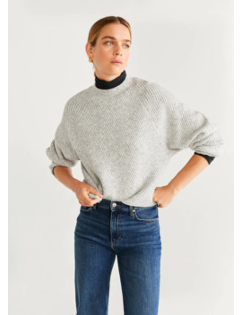 "<Font Style=""Vertical Align: Inherit;""><Font Style=""Vertical Align: Inherit;"">Chunky Knit Sweater</Font></Font> by Mango"
