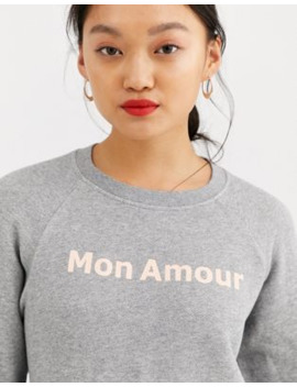 Whistles   Mon Amour Sweatshirt by Whistles