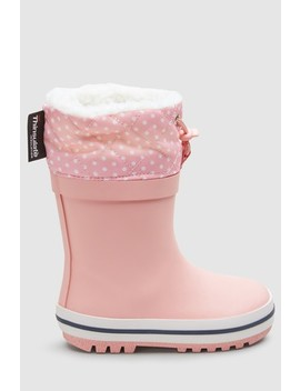 Thinsulate™ Cuff Wellies (Younger) by Next