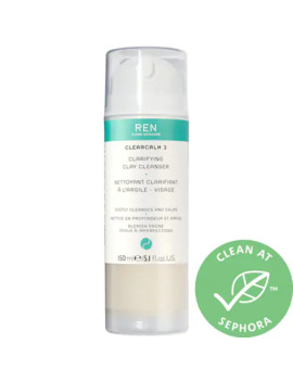 Clear Calm 3 Clarifying Clay Cleanser by Ren Clean Skincare