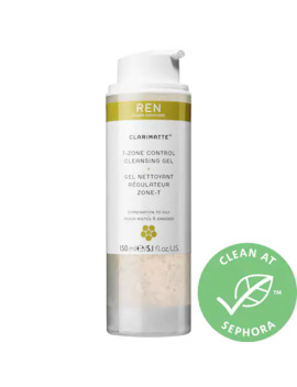 Clarimatte™ T Zone Control Cleansing Gel by Ren Clean Skincare