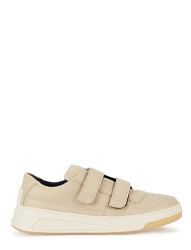 Steffey Sand Leather Sneakers by Acne Studios