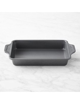 All Clad Nonstick Pro Release Rectangle Baking Pan by Williams   Sonoma