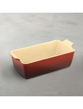 Le Creuset Heritage Stoneware Loaf Pan by Williams   Sonoma