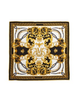Rodeo Queen Clip Silk Bandana by Versace First Line