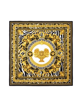 Wild Silk Twill Scarf by Versace First Line