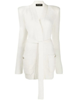Open Front Cardigan by Balmain