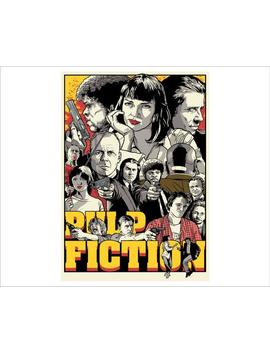 Pulp Fiction Poster, A4/A3/A2/A1 Wall Art Gift Decor Fun Poster Bespoke Custom 1002 by Etsy