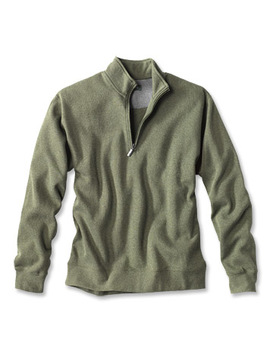 Signature Softest Quarter Zip Pullover by Orvis