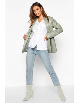 Utility Pocket Woven Smock by Boohoo
