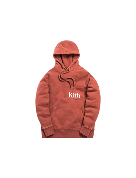 Kith Pocket Williams Hoodie Clay by Stock X
