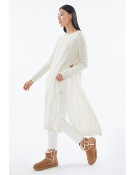 Uo Destiny Cableknit Tunic Sweater by Urban Outfitters