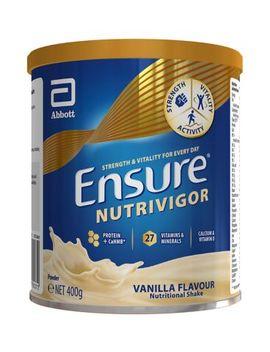 Ensure Nutri Vigor Shake Vanilla Flavour   400g by Abbot Nutrition