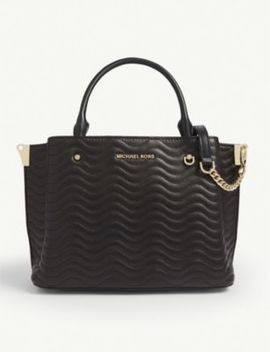 Arielle Small Quilted Leather Satchel by Michael Michael Kors