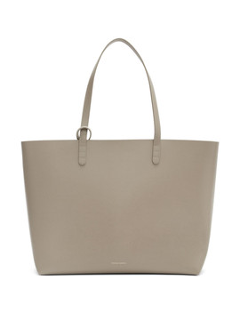 Grey Saffiano Large Tote by Mansur Gavriel