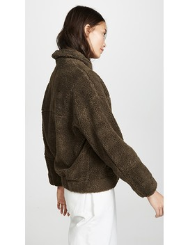 Campania Faux Fur Bomber Jacket by Apiece Apart