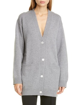 Longline Wool & Cashmere Cardigan by Mansur Gavriel
