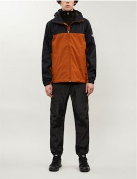 Mountain Q Colour Blocked Brand Print Shell Jacket by The North Face